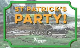St Patrick's Day at European Bier Cafe