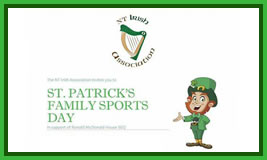 NT Irish Association's St Patrick's Family Sports Day