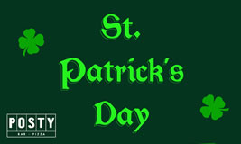 St Patrick's Day at Posty