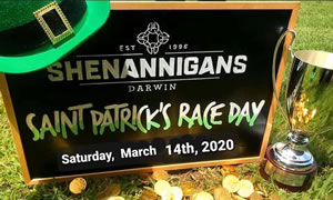 St Patrick's Day at Shenannigans