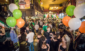 St Patrick's Day at P.J. O'Brien's Sydney